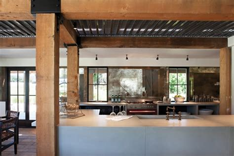rustic modern kitchen room interior design of house of