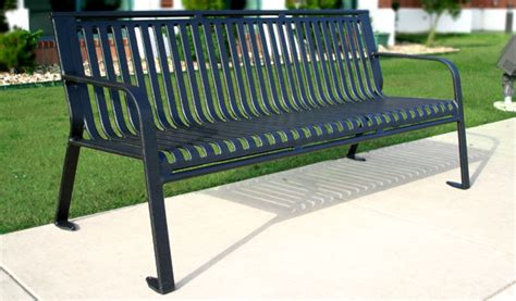 steel park benches ribbed steel park benches thermoplastic coated park