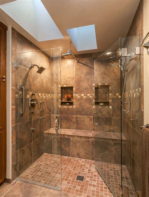 explore this luxurious expensive spa like master bathroom