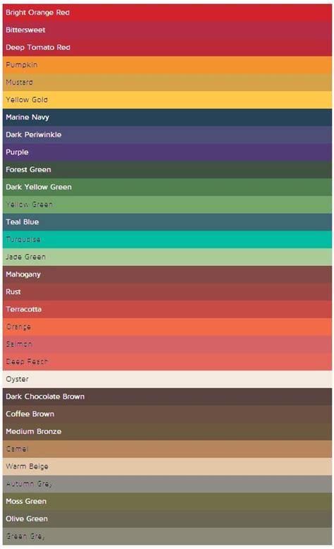 deep autumn color palette best 20 deep autumn ideas on pinterest