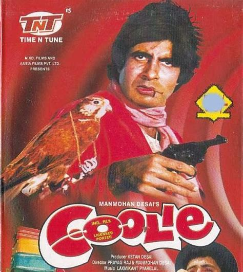 biography of movie coolie snap shots in bollywood coolie