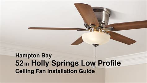 how to hang a l from the ceiling hunter low profile ceiling fan model youtube lights and