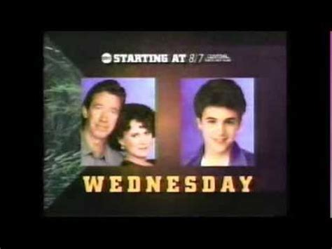 abc home improvement years wednesday promo