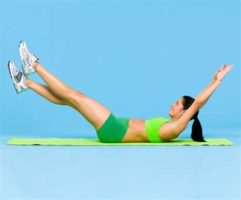 fast workout for firm flat abs fitness magazine