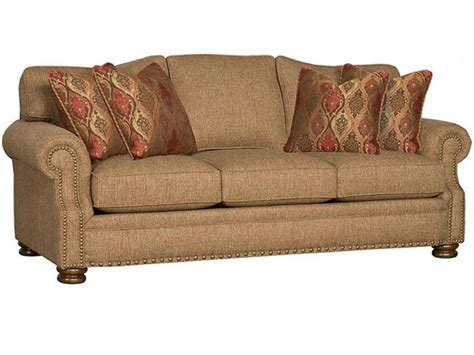 King Hickory Living Room Easton Fabric Sofa 1600 Hickory King Furniture Sofas