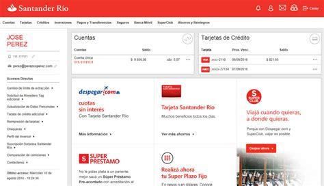 banco santander superlinea online banking empresas