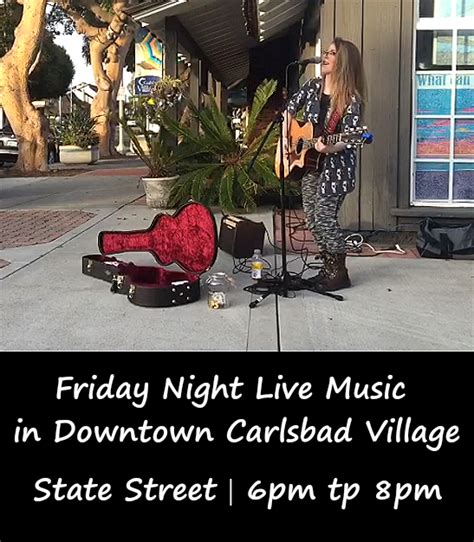 Friday Lights Carlsbad by Carlsbad Friday Live Is Back