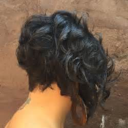 Pictures Of The Back Of Black Short Haircuts