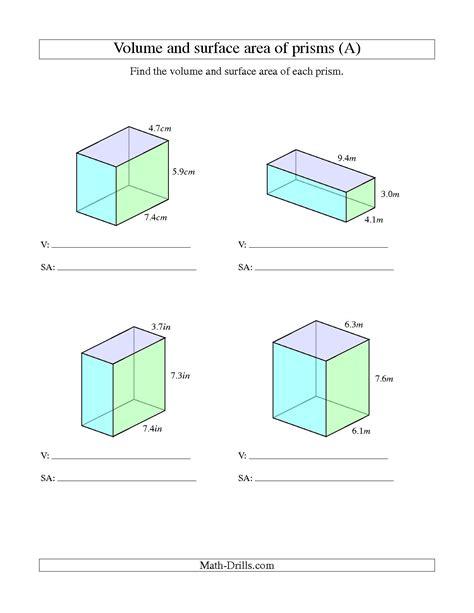 volume of rectangular prism worksheet kuta homeshealth info