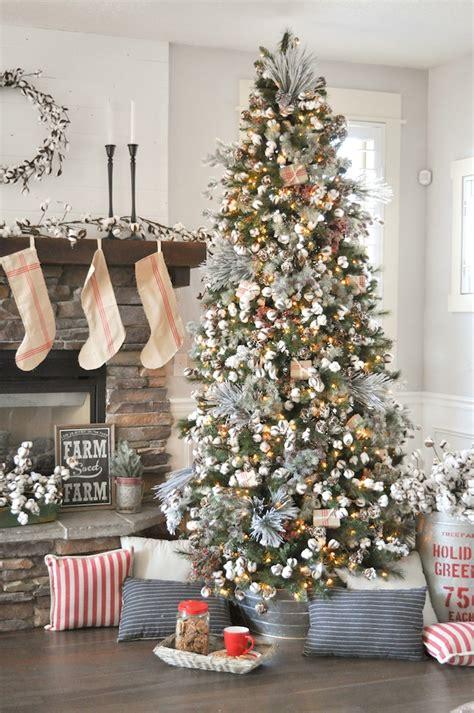 decorate xmas tree modern apartment kara s ideas farmhouse tree tree challenge 2017 kara s