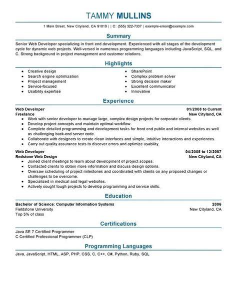Python Resume