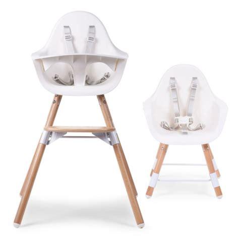 Chaise Haute Childwood by Chaise Haute Evolu En Bois Blanc Childwood Pour Enfant De