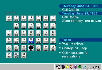 active desktop calendar download