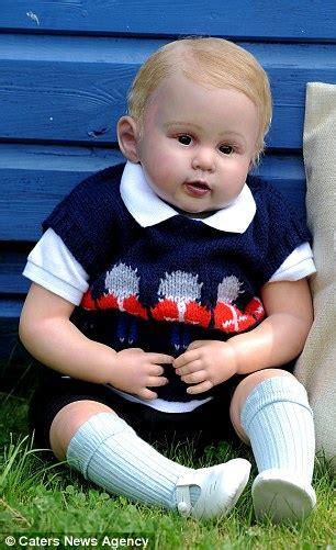 Exported Boneka Kambing Doll 2 Seorang Wanita Buat Boneka Replika Prince George Menurut