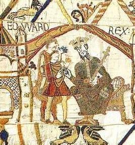 Musée Tapisserie De Bayeux by File Edward Der Bekenner Jpg Wikimedia Commons