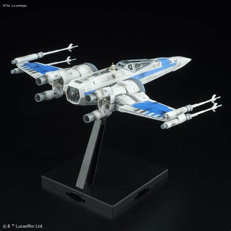 Wars Blue Squadron Resistance X Wing Fighter Bandai bandai wars the last jedi blue squadron