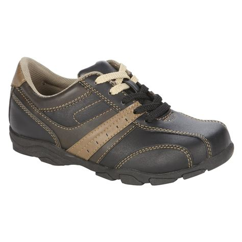 eastland boy s casual shoe scout brown clothing shoes