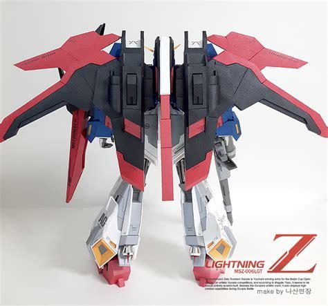 Gundam Papercraft - gundam gundam papercraft lighting z gundam