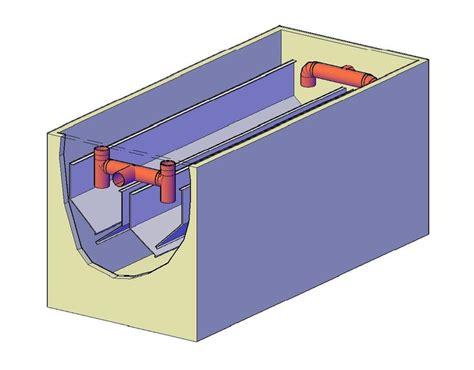 master vasca vasca di sedimentazione per impianto di scarico