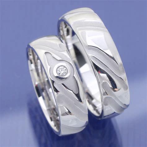 Hochzeitsringe Silber by Eheringe Shop Hochzeitsringe Aus Silber Mit Brillanten
