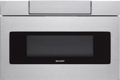 microwave drawer sharp smd2470as 24 quot microwave drawer with 1 2 cu ft