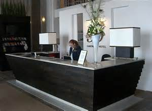 Hotel Reception Desk Furniture Contemporary Reception Desk Client Veterinary Hospital Receptions Shape And