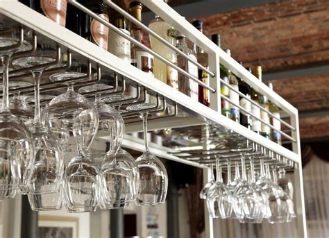 overhead glass rack 29 best metal fabrication images on pinterest bespoke business and cafe design