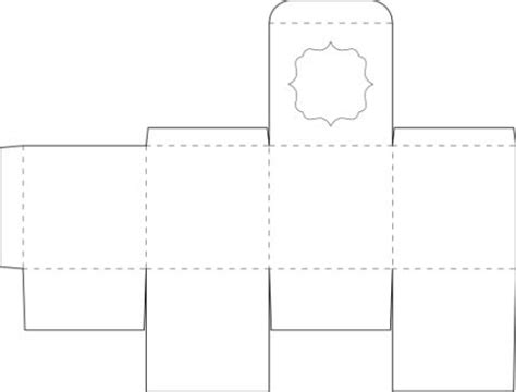 Box Template For A Square Box The Box I Am And Minis Silhouette Box Template