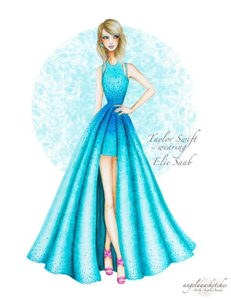 art pattern dress taylor swift 57th grammy awards updated by
