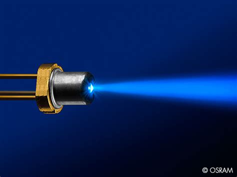 laser with diodes osram develops laser diodes for automotive lighting