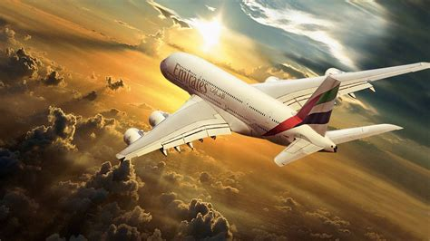 emirates wallpaper airbus emirates airlines in the sun wallpapers and images
