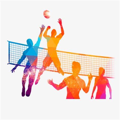imagenes inspiradoras de voley torneo de voleibol de la gente personaje voleibol juego