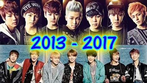 best r in 2013 2017 bts 방탄소년단 evolution 2013 2017