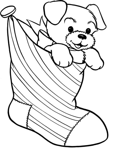 printable 22 christmas dog coloring pages 4683 christmas