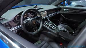 Porsche Panamera Interior 2017 Porsche Panamera 4s And Turbo Every Techie S