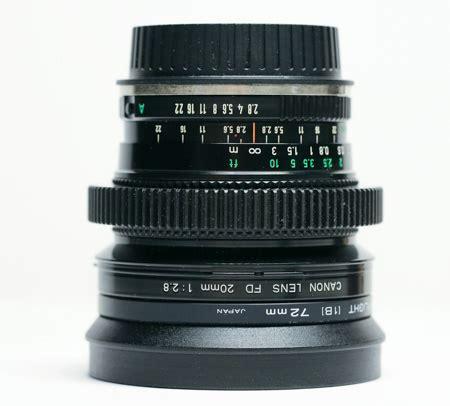 canon fd 20mm 2.8 dc camera rental