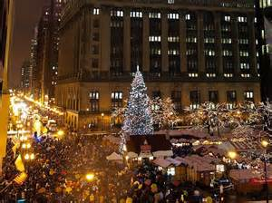 tree lighting chicago must see trees in cities around the world
