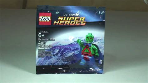 Dijamin Lego Minifigure Martian Manhunter Polybag lego dc heroes martian manhunter promotional polybag review set 5002126