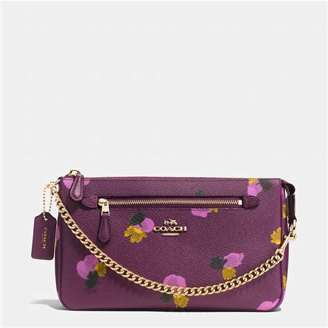 Dg Canvas Shopper by Lyst Coach Nolita Wristlet 24 In Floral Print Coated