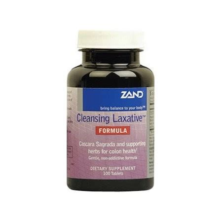 Clay Tablets For Detox by Zand Cleansing Laxative Tablets 50 Ct Jet