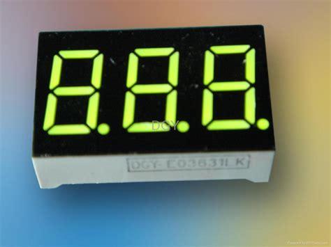 led numeric display  segments dgy china manufacturer