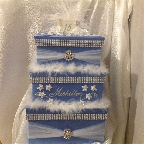 Quinceanera Gift Card Box - quinceanera birthday cards box secured card box locking card