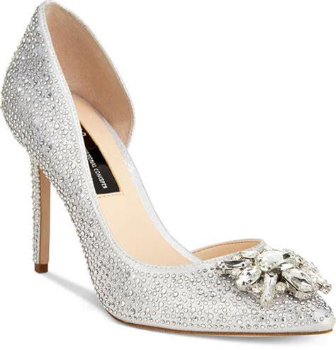 Wedding Shoes Embellished by 18 Gorgeously Embellished Wedding Shoes