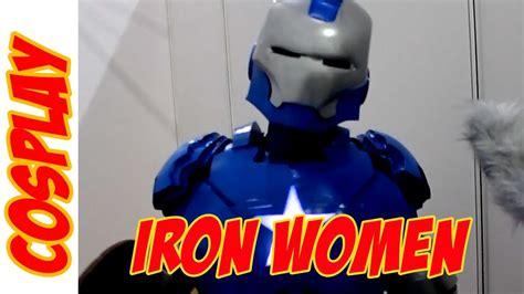 iron women female iron man cosplay mcm expo