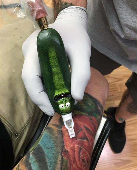 pickle tattoo pickle rick removal labzada wallpaper
