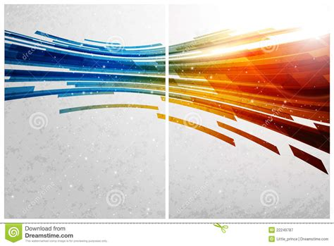 technology colors color abstract background front and back royalty free