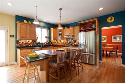 vibrant kitchen backsplash traditional kitchen other