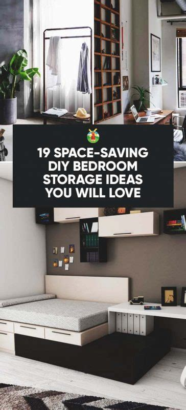 space saving diy bedroom storage ideas   love
