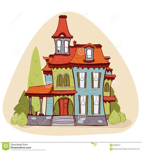 free cartoon house pictures house cartoon vector cute cartoon style house stock vector image 59638619