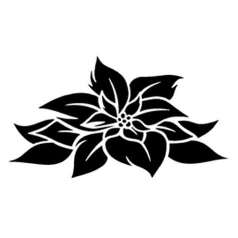poinsettia flower stencil  stencil gallery